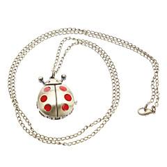 preiswerte Tolle Angebote auf Uhren-Damen Taschenuhr Uhr mit Schlüsselanhänger Halskettenuhr Quartz Legierung Band Analog Modisch Bronze - Golden