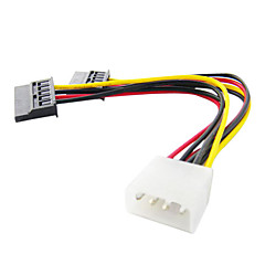 One to Two Interface SATA Cable (15 cm)