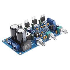 baratos -tda2030a 2.1 amplificador de áudio de potência amp board diy kit 18wx2 (super bass super bass)