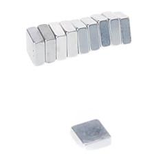 abordables Juguetes Magnéticos-Juguetes Magnéticos Bloques de Construcción Imanes magnéticos superfuertes 10 Piezas 5*5*2mm Juguetes Magnético Cuadrado Regalo