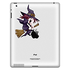 Witch Pattern Protective Sticker for iPad 1, iPad 2 ,iPad 3 and The New iPad