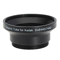 52mm objektiv a filtr Adaptér trubice pro Kodak dx6440/dx7440 černé
