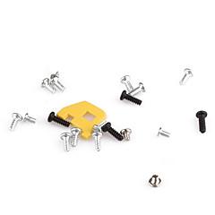 erstatning skrue sett med klistremerker for PSP 1000