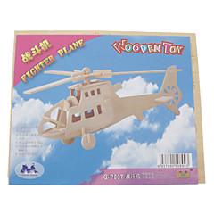 voordelige -3D-puzzels Houten puzzels Helikopter Plezier Hout Klassiek