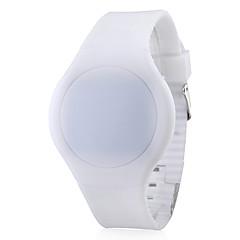 preiswerte Tolle Angebote auf Uhren-Herrn Armbanduhr Digital Touchscreen Kalender Kreativ Silikon Band digital Schwarz / Weiß / Rot - Purpur Rot Grün / LED