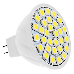 cheap LED Bulbs-4W GU5.3(MR16) LED Spotlight MR16 30 leds SMD 5050 Natural White 420lm 6000K DC 12V