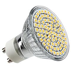 4W GU10 LED-spotlys MR16 80 leds SMD 3528 Varm hvid 2800lm 2800KK Vekselstrøm 220-240V