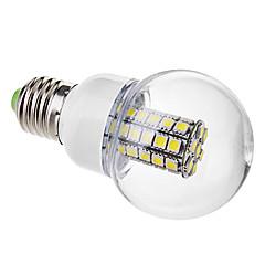 お買い得  LED 電球-6000 lm E26/E27 LEDボール型電球 G60 47 LEDの SMD 5050 温白色 クールホワイト AC 220-240V