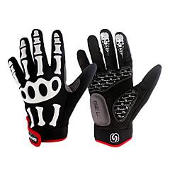 spakct oddychający nylon mody zaprojektowany łącznik pełnej taśmy rękawice-szkielet palec