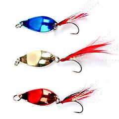 Colorful gancho de pesca con las plumas Lure (5 g, color ramdon)