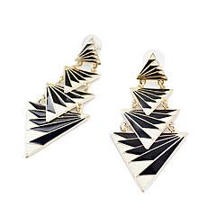 preiswerte Ohrringe-Damen Tropfen-Ohrringe - Schwarz Für Party Alltag