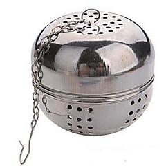 bola de acero té multifunción diámetro 5.5cm bloqueo colador infusor teteras