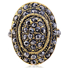 preiswerte Ringe-Damen Statement-Ring - Krystall, vergoldet Modisch 7 Golden Für Party Alltag Normal