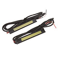 preiswerte LED Autobirnen-2-7W 1xCOB 160-560LM 8.5cm 8000K Cool White Licht-LED für Auto (12-16V, 2 St.)