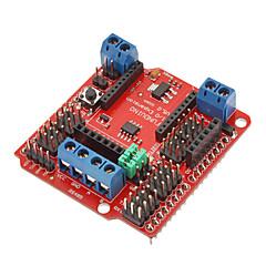 お買い得  Arduino 用アクセサリー-(Arduinoのための)のためのIO拡張シールドV5のXBeeセンサのシールドRS485(公式(Arduinoのための)ボードで動作します)