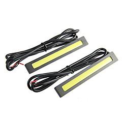preiswerte LED Autobirnen-2-7W 1xCOB 160-560LM 9500K kühles weißes Licht-LED für Auto (12-16V, 2 St.)