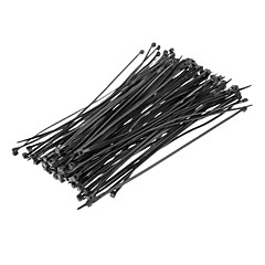 Cable Tie 200 χιλιοστά * 4 χιλιοστά Μαύρο 100τεμ