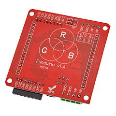 호환 60mm 풀 컬러 RGB LED 도트 매트릭스 디스플레이 드라이버 보드 모듈 W / (Arduino를위한)