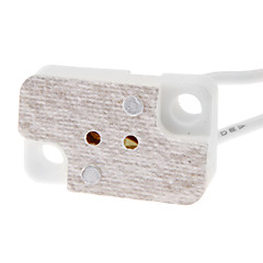 billige LED-tilbehør-mr16 led lyspære sokkel baseholder med tråd høj kvalitet