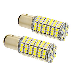 cheap LED Car Bulbs-Bay15d/1157 8W 120x3020SMD 660LM 5500-6500K Cool White Light LED Bulb for Car (12V,2pcs)