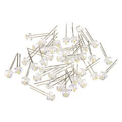 abordables LEDs de Alta Potencia-4 Diferentes luz blanca LED Diodos emisores de luz (3-3.2V, 40pcs)