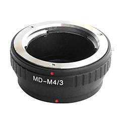 עדשת EMOLUX Minolta MD MC למייקרו 4/3 מתאם E-P1 E-P2 E-P3 G1 GF1 GH1 G2 GF2 GH2 G3 GF3