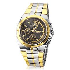 preiswerte Tolle Angebote auf Uhren-Herrn Armbanduhr Quartz Armbanduhren für den Alltag Legierung Band Analog Charme Silber / Gold - Weiß Schwarz Goldenschwarz Zwei jahr Batterielebensdauer / SOXEY SR626SW