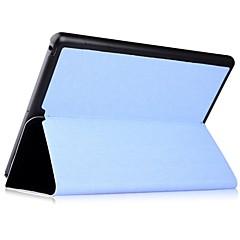tanie iPad Air: Etui/Pokrowce-Kılıf Na iPad Air Z podpórką Pełne etui Solid Color prawdziwa skóra na iPad Air