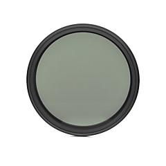 fotga® 58mm delgado ND del atenuador de filtro ajustable nd2 densidad neutra variable para ND400