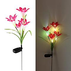 태양 주도 꽃 빛 (1049-cis-28077) 고품질 옥외 조명