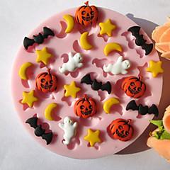 bageform Stjerne Til Kage Til Cookies Til Tærte Silikone Miljøvenlig Høj kvalitet Halloween