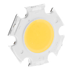 DIY 3W 250-300LM 3000K Θερμό 300mA Ενότητα LED λευκού φωτός Ολοκληρωμένη (9-11V)