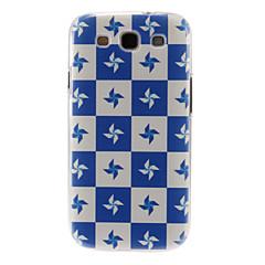 Mert Samsung Galaxy tok Minta Case Hátlap Case Csempe PC Samsung S3