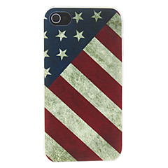 voordelige iPhone 4s / 4 hoesjes-Voor iPhone X iPhone 8 iPhone 8 Plus Hoesje cover Achterkantje hoesje Nationale vlag Hard PC voor iPhone X iPhone 7s Plus iPhone 8 iPhone