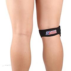 Kniebrace Sport Ondersteuning Zwart Fade