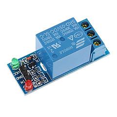 Blauw KF301 Block relaisuitgangsmodule Brand New 5V 1 Kanaal Relaismodule relais uitbreidingskaart