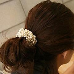 tanie Biżuteria do włosów-Damskie Elegancki Wstążka do włosów - Materiał
