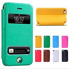 Νέο Smart Luxury Leather Flip Case Cover για το iPhone 4/4S (διάφορα χρώματα)