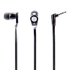 JM02 3.5mm estéreo portátil de alta fidelidad en la oreja los auriculares con Micphone