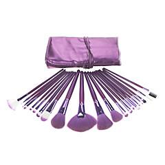 voordelige Make-up kwasten-21 Brush Sets Zwijnsborstel / Kwast van nertshaar / Kwast van geitenhaar / Kwast van eekhoornhaar Gezicht / Lip / Oog