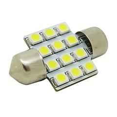 お買い得  自動車用LED電球-SO.K Festoon 電球 SMD 3528 50lm