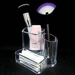 Make-up opbergsysteem Make-updoos / Make-up opbergsysteem Acryl Effen 13.3x9.5x11.2cm