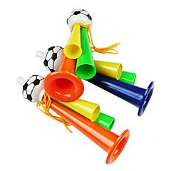 voordelige -WK 2014 Drie Tube fans juichen Plastic Trompet (willekeurige kleur)