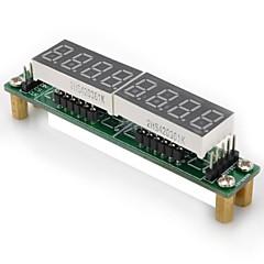 diy 8 segments module de panneau d'affichage dirigé pour (pour Arduino) (fonctionne avec un responsable (pour Arduino) conseils)