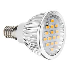 cheap LED Bulbs-5W 380 lm E14 GU10 GU5.3(MR16) E26/E27 LED Spotlight 15 leds SMD 5730 Warm White Cold White AC 100-240V