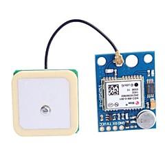 abordables Conectores y Terminales-GY-GPS6MV1 Módulo APM2.5 GPS con antena - Deep Blue (3 ~ 5 V)