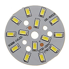 olcso LED-ek-7W 600-650LM Cool White Light 5730SMD Integrated LED Module (21-24V)