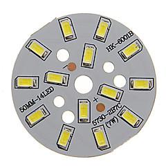 7W 600-650LM Cool White Light 5730SMD Integrated LED Module (21-24V)