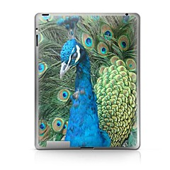 Peacock Pattern Protective Sticker for iPad 1/2/3/4  iPad Skin Stickers