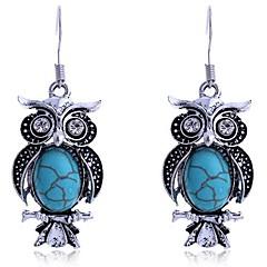 Damskie Kolczyki wiszące biżuteria kostiumowa Stop Animal Shape Sowa Biżuteria Na Codzienny